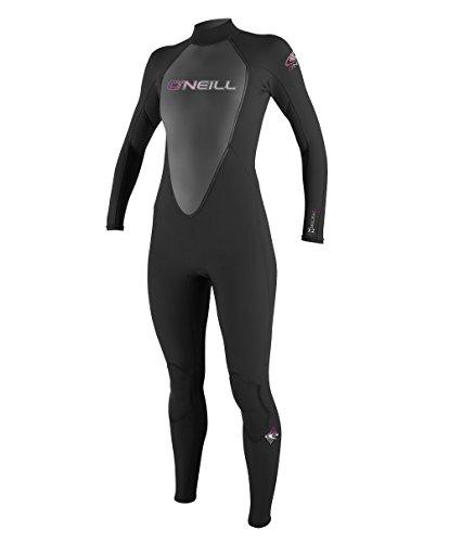 O'Neill Wetsuits Damen Neoprenanzug Reactor 3/2 mm Full Wetsuit, Black, 6
