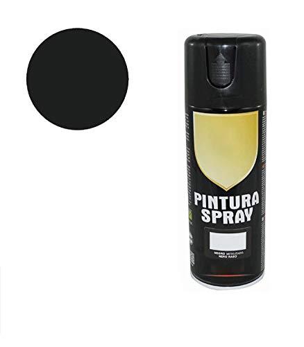 Pintura Spray Negro Metalizado 400 Ml