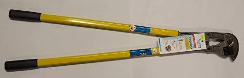 Mattenschneider KRENN 950 mm, gelb, KM 10 SB Dreischneidenwechselmesser