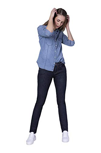 Blue Fire Co Nancy 003 - Slim, Rinse Washed 30/34 - Damen