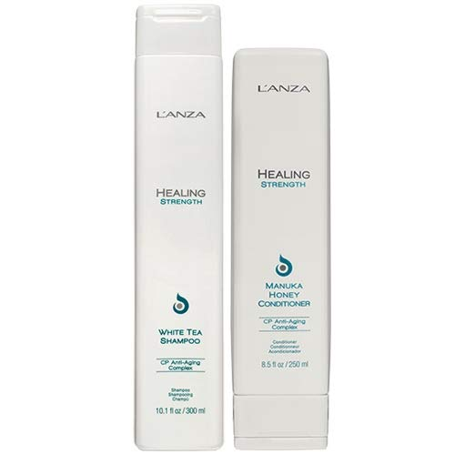 L'ANZA Healing Strength Shampoo & Healing Strength Conditioner 250 ml Duo