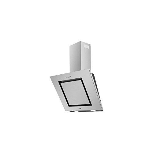 CONTINENTAL EDISON - Hotte Déco inclinée 60 cm - Full Inox- 65W