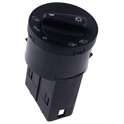 Interruptor de faro automático, Interruptor de control de la lámpara del faro, interruptor de control de luz antiniebla, compatible con 1999-2004 Golf/Jetta/Bora MK4 1998-2004 Passat B5