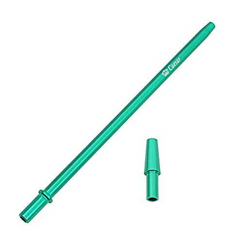 Caesar Aluminium Griffteil Fine 32 (Grün) | Alumundstück für Wasserpfeifen Hookah Shisha | Universell & Einfache Anwendung