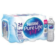 Nestle Pure Life Purified Water, 16.9 fl oz. Plastic (pack of 24)