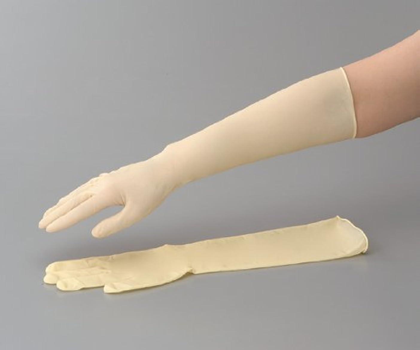 チキン一杯薬を飲むラテックスロング手袋(スーパーロング) No.336 M 1袋(50枚入)