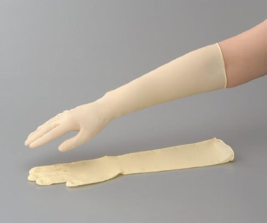 返還煙付添人ラテックスロング手袋(スーパーロング) No.336 L 1袋(50枚入)