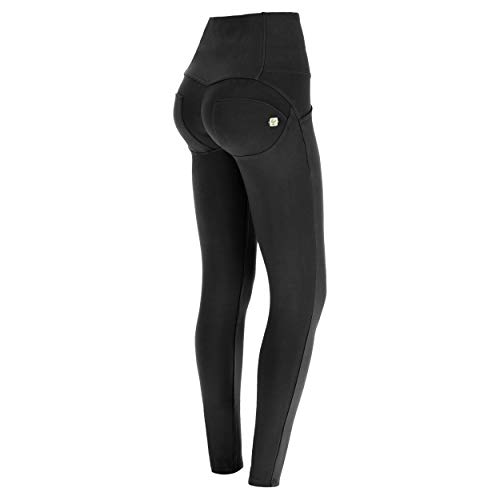 Freddy Damen Wrup1hc001 Legging Not Applicable, Schwarz (Black N0), 38 (Herstellergröße: Large)