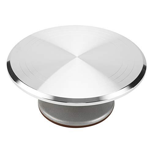 Alvinlite Soporte Giratorio para Tartas con Base de Silicona Antideslizante, Ideal para decoración de Tartas, para decoración de Tartas, Pasteles, Cupcakes