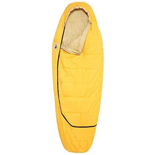 THE NORTH FACE Eco Trail Synthetic 35 Schlafsack Regular Yellow/Hemp Ausführung Left Zipper 2020 Quechua Schlafsack