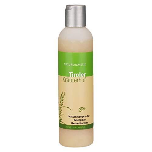 Tiroler Kräuterhof Naturkosmetik - Orgánico - champú natural - manzanilla pura - 500 ml