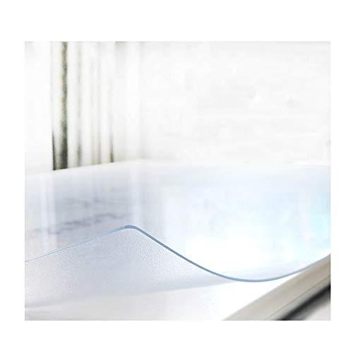 AMDHZ Tapetes for Mesa Mantel Transparente Tapete De Plástico for Mesa Protector De Escritorio 1,5 Alfombrilla Protectora Tapete De Mesa De Centro Grueso Transparente