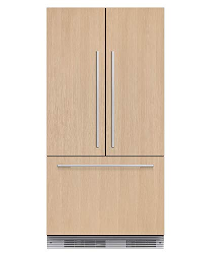 """Fisher Paykel RS36A72J1 36"""" Star K Energy Star Built-In French Door Refrigerator with 16.8 cu. ft. Capacity 72"""" Tall ActiveSmart Foodcare Adaptive Defrost Fast Freeze and LED Lights: Panel"""