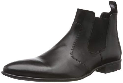 LLOYD Herren Novello Chelsea Boots, Schwarz (Schwarz 0), 44.5 EU