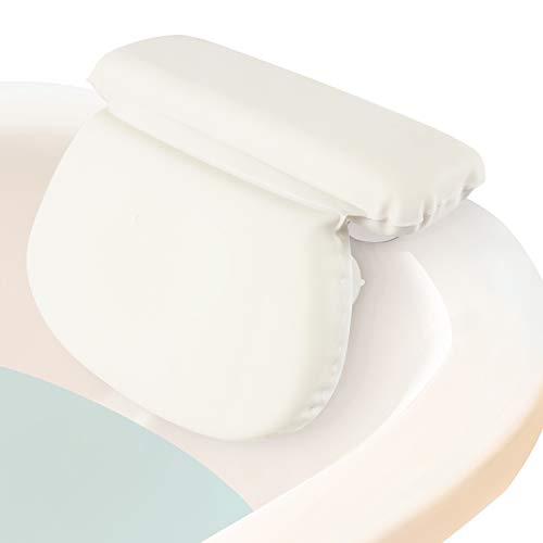 Xtra-Comfort Bath Pillow (2' Thick) - Bathtub Spa Cushion...