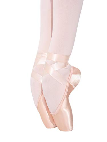Capezio Airess Tapered Toe (FlexiFirm) Pointe Shoe - Size 7.5N, Petal Pink