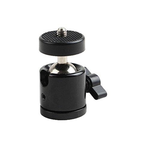 "Eggsnow 1/4"" Mini Tripod Ball Head Bracket Holder Mount Ballhead for DSLR Camera"