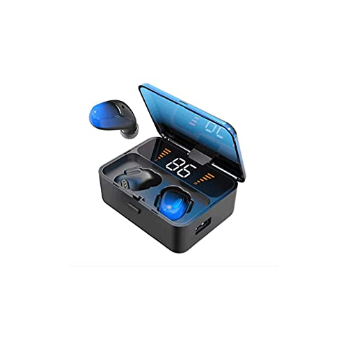 WGLL Auriculares inalámbricos Bluetooth 5.0 Auriculares IP6 Auriculares inalámbricos a prueba de agua en el oído con estuche de carga BUSBES DE OARGE DE ORIENTES DE ORIENTES DE RUDO Cancelación de rui