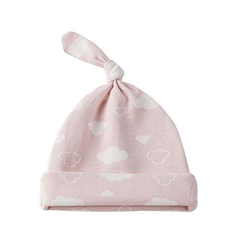 Pur Coton Aèrent Confortable Enfants élégant Chapeau/Chapeau Enfant(Nuage Rose)