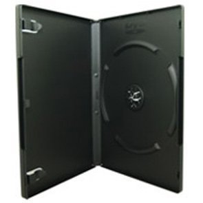 Etui DVD 14mm Simple Single Noir - par 50 Pièces
