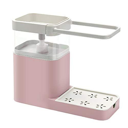 vap26 Dispensador de jabón multiusos para limpiar el hogar, de polipropileno, para ahorrar espacio,...