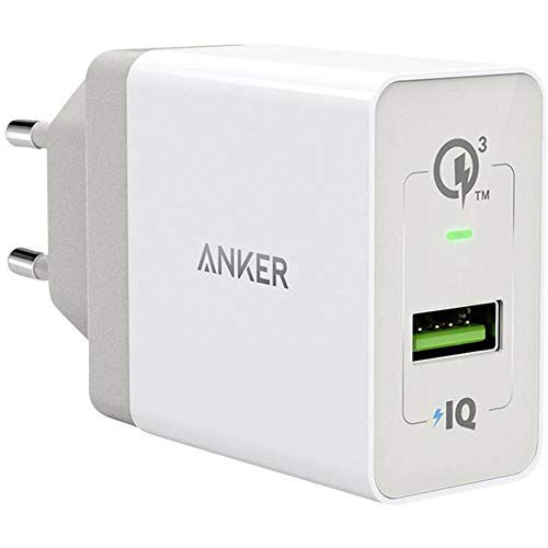 Anker PowerPort+ 1 Quick Charge 3.0 18 W USB caricatore...
