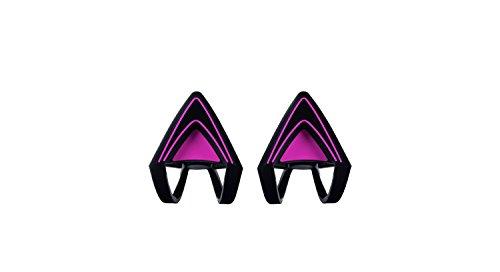 Razer Kitty Ears Katzenohren (für Razer Kraken Gaming Headsets einzigartiger Look und Design für jedes Razer Kraken) Pink