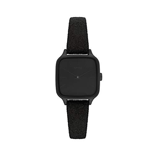 Komono Damen-Uhren Analog Quarz One Size Schwarz/Schwarz 32015280