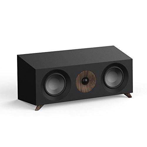 Jamo S 83CEN 160W schwarz, Walnuss Lautsprecher–Lautsprecher (kabelgebunden, 160W, 65–26000HZ, 8Ohm, schwarz, Walnuss)