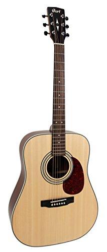 Cort EARTH70OP Guitare acoustique Natural Open Pore