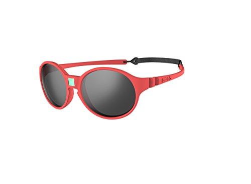 Ki ET LA – Gafas de sol para Bebé modelo Jokakids – 100% irrompibles - color Coral – 4-6 años
