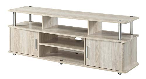 """Convenience Concepts Designs2Go 60"""" Monterey TV Stand, Ice White -  151440IW"""