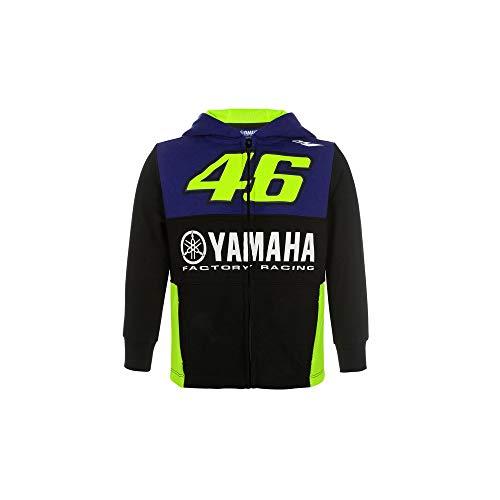 Valentino Rossi Yamaha Dual-Racing, Zip Fleece Niño, niño, YDKFL362909005, Royal Blue, 5/6