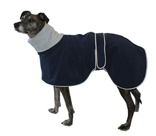 Abrigo de Cosipet para perro de caza, color azul - gris