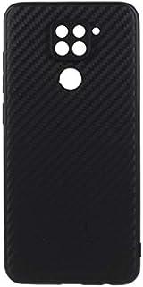Xiaomi Redmi Note 9 Case Cover Slim Flexible Soft with Camera Protection Bump Back Cover Case for Xiaomi Redmi Note 9 (Bla...