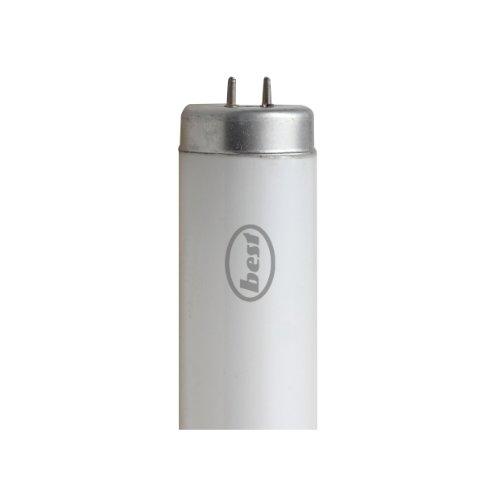 Bulk Hardware 1213 mm Triphosphor-Neonröhre, 40 Watt T12 2-Stift, W, Weiß