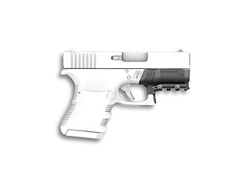 ReCover Tactical GR26 Compatible with The Glock 26 and Glock 27 (All Generations) Picatinny Rail - Easy Installation, No Modifications Required, no Need for a Gunsmith. Installs in Under 3 Minutes