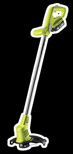 Ryobi RLT1825M13S Grastrimmer, 18 V, maaibreedte 25 cm, met tweede handgreep, met accu (1,3 Ah) en oplader