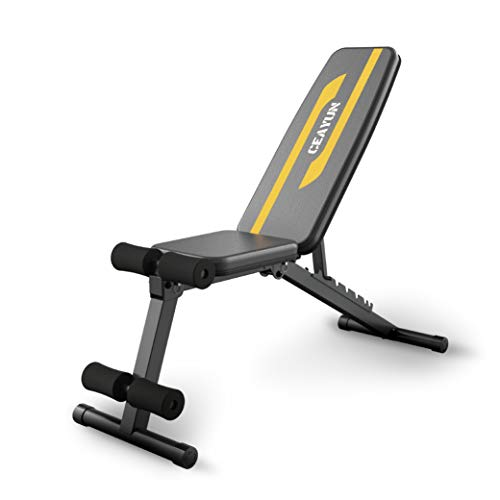 CEAYUN Adjustable Weight Bench, Strength Training Bench for Full Body Workout & Home Gym
