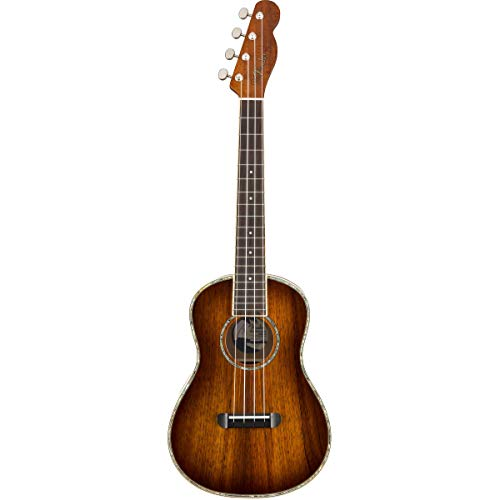 Fender Montecito - Ukelele tenor - Tobacco Sunburst