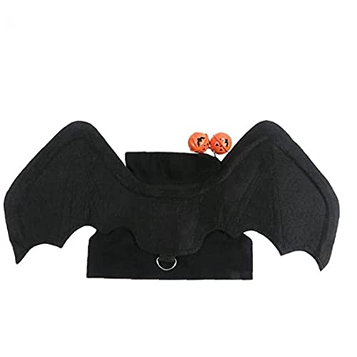 Morto Mascotas Disfraz Halloween Cats Perros Morto Morto Cat Dog Bat Disfraz Vistos Accesorios para Halloween L