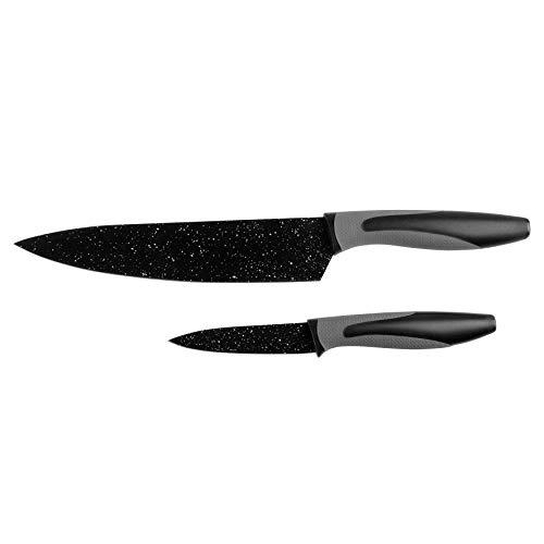 Pradel Heritage 517355 Laguiole Juego de 3 Cuchillos Acero Inoxidable, 20 x 4 x 2,5 cm