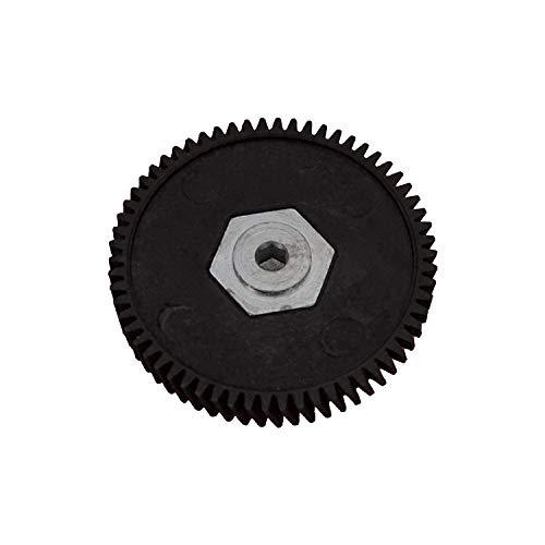 GoGoEu Schiebedach Motorreparaturgetriebe mit Welle für Mini Cooper 62 Zähne, Durchmesser: 49 mm 62 Zähne