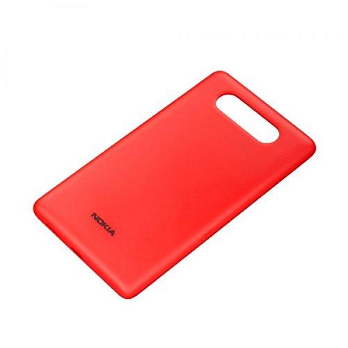 Nokia Cover 3041CC per ricarica wireless per Lumia 820Rosso–Blister