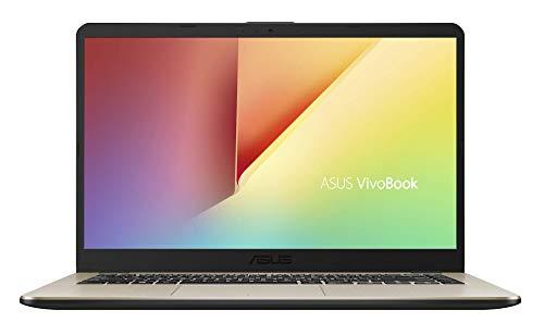 "ASUS VivoBook 15 R505ZA-BR675 - Portátil de 15.6"" HD (AMD Ryzen 5 2500U, 8GB RAM, 256GB SSD, AMD Radeon Vega 8, sin sistema operativo) Metal Oro - Teclado QWERTY Español"