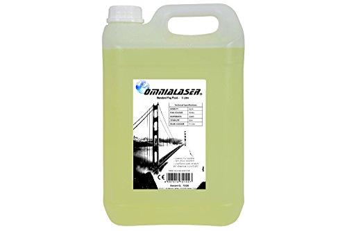 Preisvergleich Produktbild Flüssigrauch OmniaLaser Standard kompatibel mit allen Rauchmaschinen 5 Liter (OL-FOGS5)