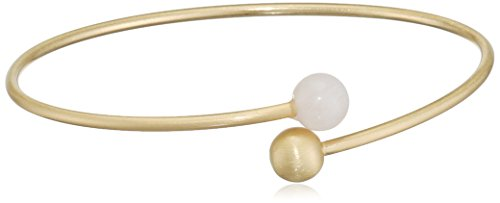Pilgrim Damen-Armreif Lovesome Vergoldet teilvergoldet Quarz rosa Rundschliff 6.5 cm - 141612702