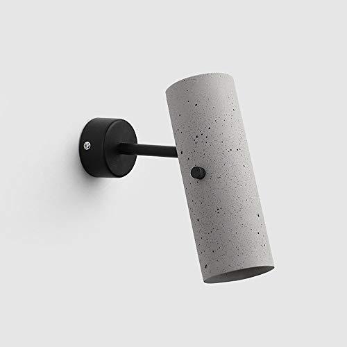 LED Lámpara de pared Interior Moderno Estilo Industrial Rotación Ajustable Foco de...