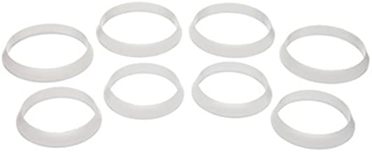 Danco 81086 Slip Joint Washer Assortment, Plastic, White