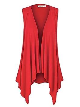 Best red cardigan vest Reviews